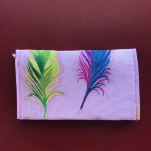 Small Wallet – Feather Design #574
