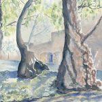 Ancient Ones Watercolor