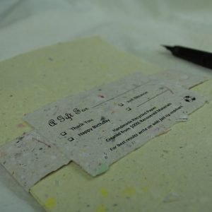 Deckle Paper w/ Envelope