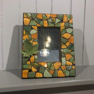 Mosaic Framed Mirror (Autumn)